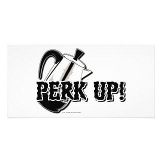 Perk Up! Custom Photo Card