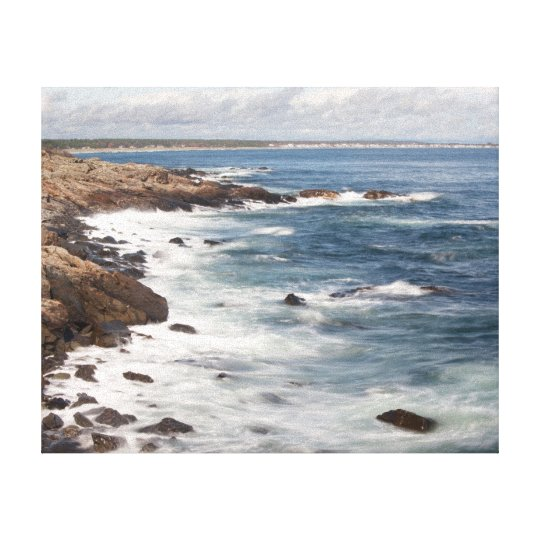 Perkins Cove in Maine Canvas Print