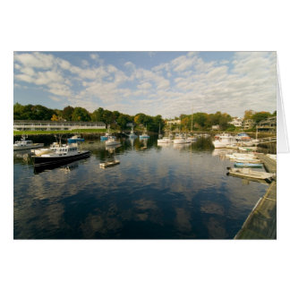 Perkins Cove Maine  Card