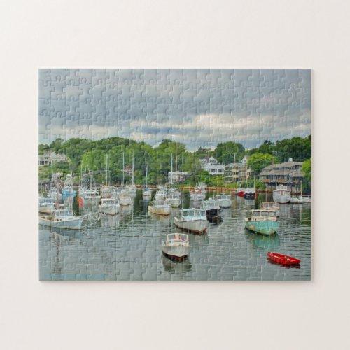 Perkins Cove _ Ogunquit Maine Jigsaw Puzzle