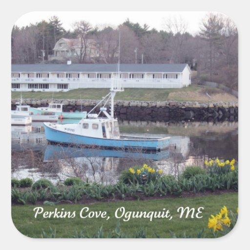 Perkins Cove, Ogunquit, Maine Sticker
