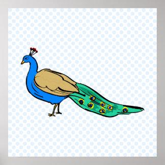 Perkins Peacock Poster