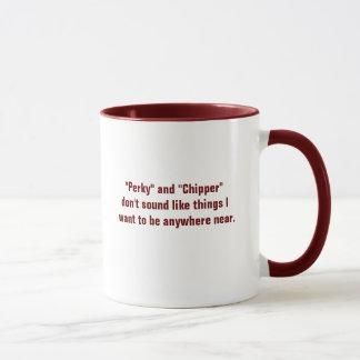"""""""Perky"""" & """"Chipper"""" Mug"""