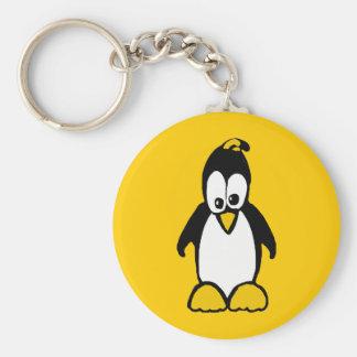 Perky Penguin Keychain