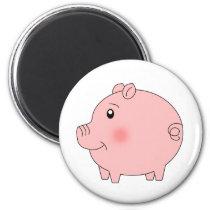 Perky Pig Magnet