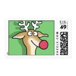 PERKY REINDEER by Boynton Postage Stamps