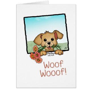 Perky the Pup (Pathway Pet) Card
