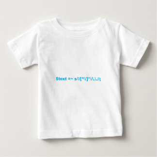 Perl regular expression baby T-Shirt