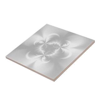 Perla blanca torcida azulejo ceramica