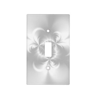 Perla blanca torcida cubierta para interruptor