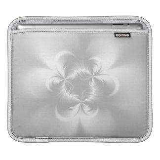 Perla blanca torcida funda para iPads