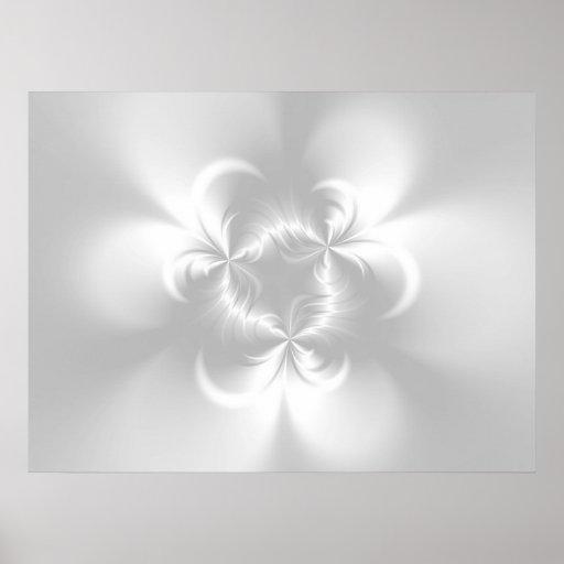 Perla blanca torcida poster