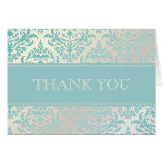 Perla + El damasco azul le agradece las tarjetas