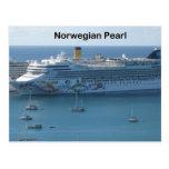 Perla noruega tarjetas postales