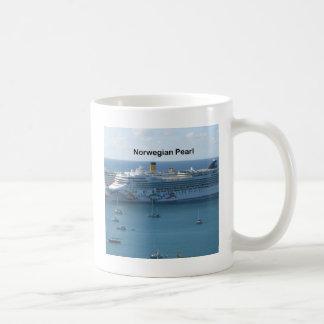 Perla noruega taza de café