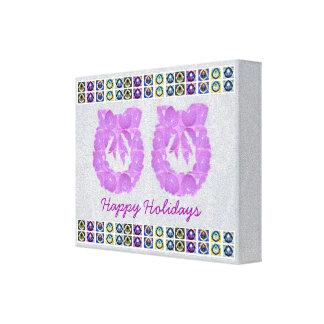 Perla púrpura de HappyHolidays - decoraciones de l Lona Estirada Galerías