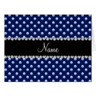 Perlas conocidas personalizadas de los azules mari