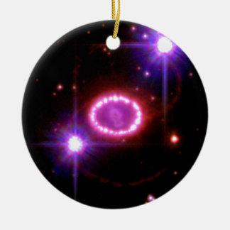 Perlas cósmicas ornamento de reyes magos