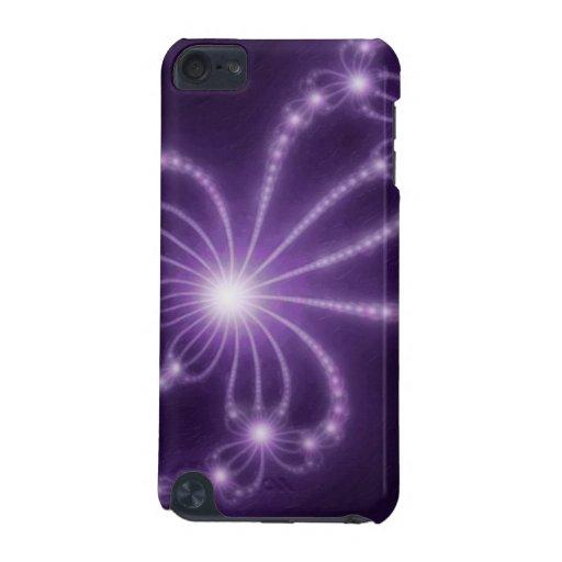 Perlas de la 1 púrpura profunda