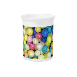 Perlas del azúcar jarras de beber