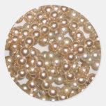 Perlas Etiqueta Redonda