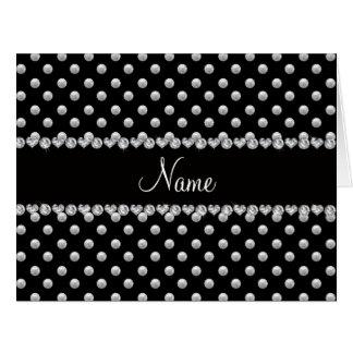 Perlas negras conocidas personalizadas