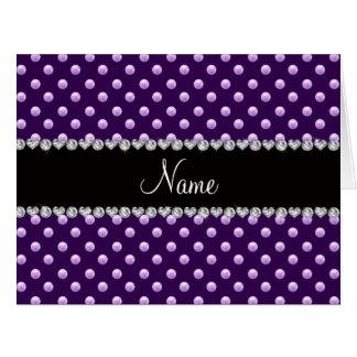 Perlas púrpuras conocidas personalizadas
