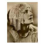 Perlas y moda postales
