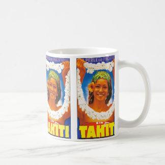 ~ Perle du Pacifique de Tahití Taza De Café