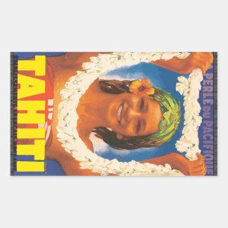 Perle Du Pacifique Tahiti, Vintage Stickers