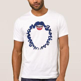 perlorian moustache tee shirt