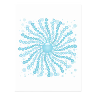 Perls - Blue Postcard