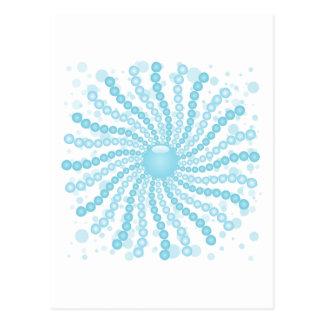 Perls - Blue Postcard