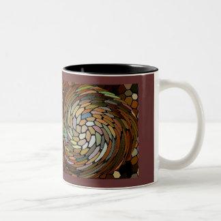 Perl's Swirl Two-Tone Coffee Mug