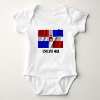 Perm Krai Flag Baby Bodysuit