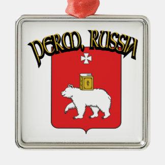 Perm Russia Metal Ornament