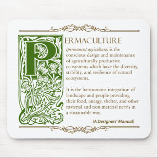 Permaculture - A Definition (1) Green & Brown Mouse Pad