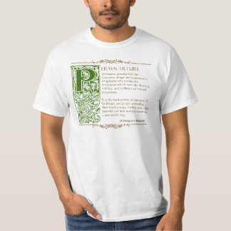 Permaculture - A Definition (1) Green & Brown Shirt