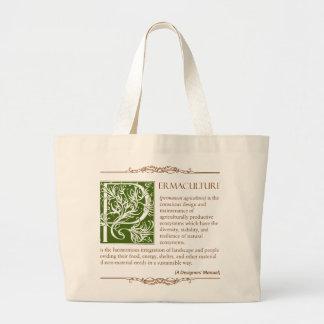 Permaculture - una definición 1 bolsas de mano