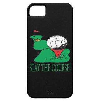 Permanezca el curso funda para iPhone 5 barely there