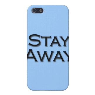 Permanezca lejos iPhone 5 carcasa