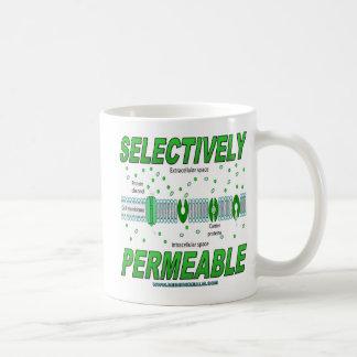 Permeable selectivamente taza
