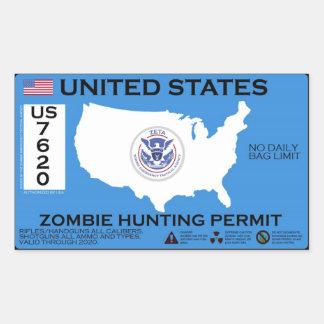 Permiso de la caza del zombi - ZETA