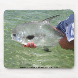 Permit on the Flats Mouse Pad