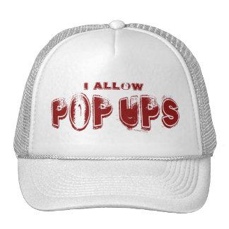 Permito el gorra de PopUps