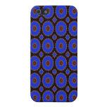 Pern azul brillante bonito iPhone 5 funda