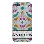 pern colorido personalizada iPhone 5 fundas