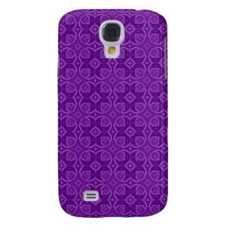 Pern de madera abstracto púrpura