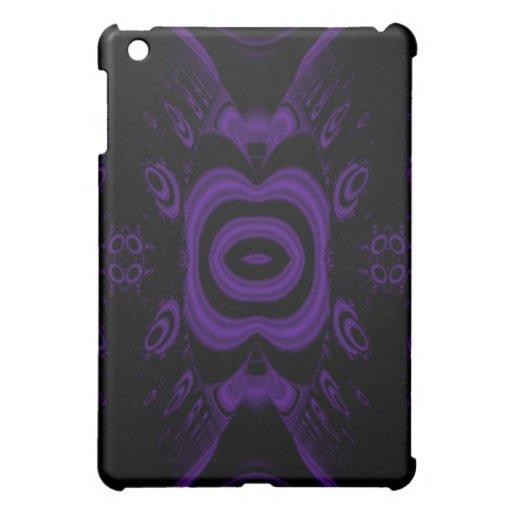 Pern. floral negro y púrpura gótico