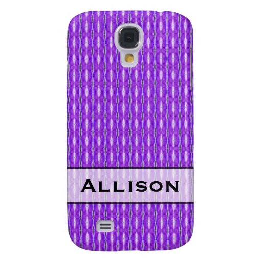 Pern púrpura lindo personalizada